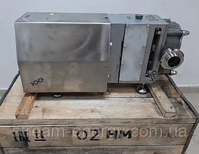 Насос роторний НМ-02 (10м3/год) 3-х пелюстковий ротор