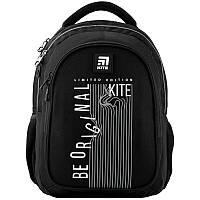 Рюкзак школьный ортопедический черный для мальчика Kite Education (K20-8001M-5)