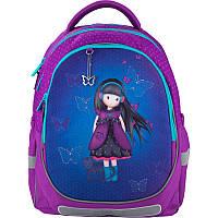 Ортопедический рюкзак в школу фиолетовый для девочки Kite Education Charming для начальной школы K20-700M-3
