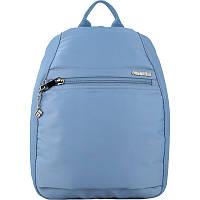Городской молодежный рюкзак голубой для девушек Kite City K20-943-3