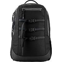 Спортивный молодежный рюкзак черный мужской Kite City для города (K20-939L-1)