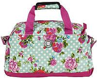 Женская спортивная сумка с цветами Paso 19L, 17-782M