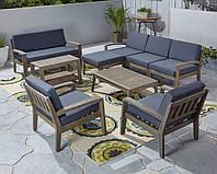 Комплект мебели из 9 секций с подушками, фото 1