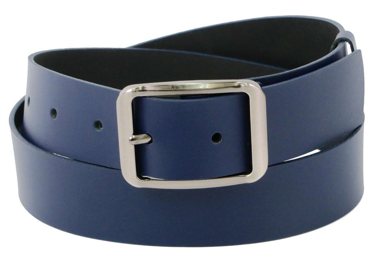 Жіночий шкіряний ремінь 4 см Cavaldi Pd46 синій