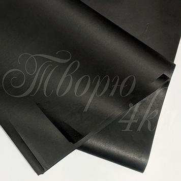 Тишью бумага упаковочная черная 50 х 70см ( пачка 100 листов )