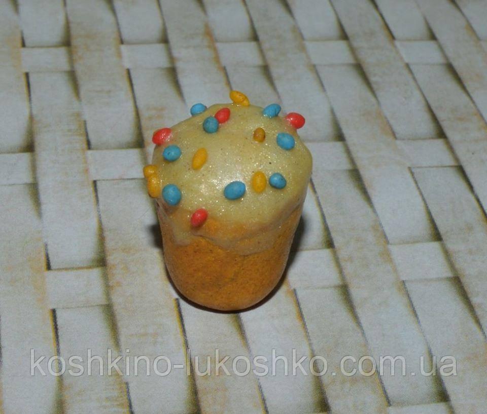 Еда для кукол  кекс пасхальный