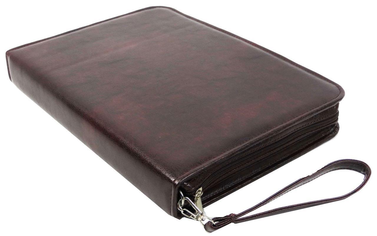 Класична папка для документів з шкірозамінника Exclusive 710900