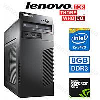 Lenovo M72e - Intel Core i5-3470/ 8GB DDR3/ GeForce GTX750Ti 2GB/ 500GB Системный блок, Компьютер, Игровой ПК