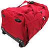 Дорожня сумка на колесах 65 л David Jones B8881 червона, фото 9