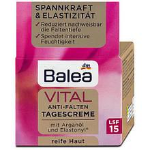 Крем денний для обличчя Balea Vital для зрiлої шкiри 50мл. оригінал