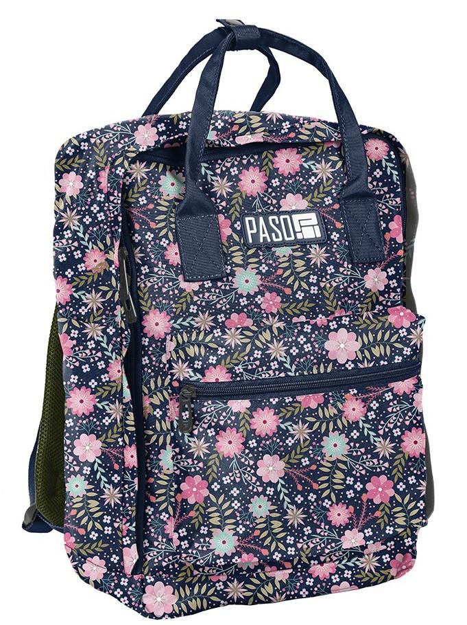 Женский молодежный рюкзак-сумка 14L Paso PPMZ19-020