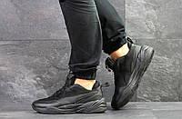 Мужские демисезонные кроссовки,черные 44р