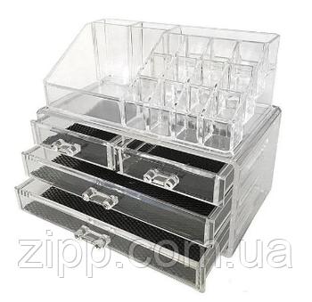 Органайзер для косметики акриловий складний Storage Box
