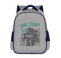 Каркасный ортопедический школьный рюкзак для мальчика, детский портфель ранец для первоклассника 7-8-9 лет