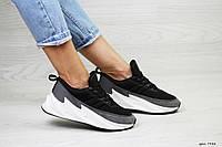 Подростковые модные кроссовки Adidas Sharks,серые с белым 39р