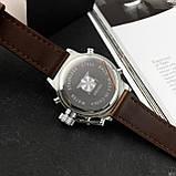 AMST 3003 Silver-Black Brown Wristband, фото 8