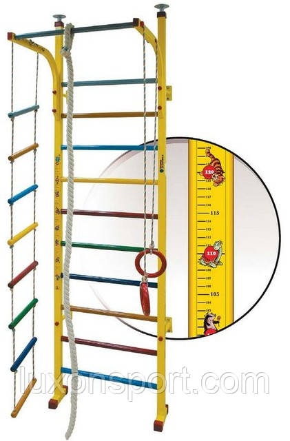 Спортивный уголок для детей Luxon Sport Киндер (квадрат труба)