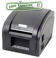 1 год гарантия Принтер этикеток Xprinter XP-360B (штрих кодов) и чеков ОРИГИНАЛ принтер этикеток, фото 1
