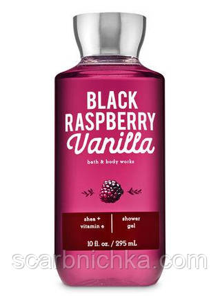 "Гель для душа Bath and Body Works ""Black raspberry vanilla"", фото 2"