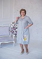 """Платье-рубашка """"Конфетка"""" с нашивками и наклейками, фото 1"""