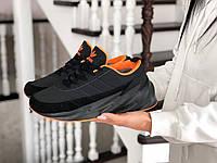 Подростковые зимние кроссовки Adidas Sharks,черные 36,39р