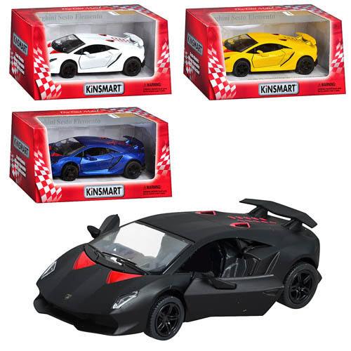 Металлическая машинка Lamborghini Sesto Kinsmart