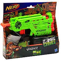 Бластер Hasbro Nerf Зомби Страйк Квадрот c мягкими патронами (E2673)