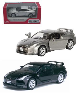Металлическая машинка Nissan GT-R R35 Kinsmart