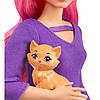 Barbie Лялька Дейзі  Travel Set  ( Кукла Барби Дейзи Путешественница Barbie Daisy Travel Doll FWV26), фото 4