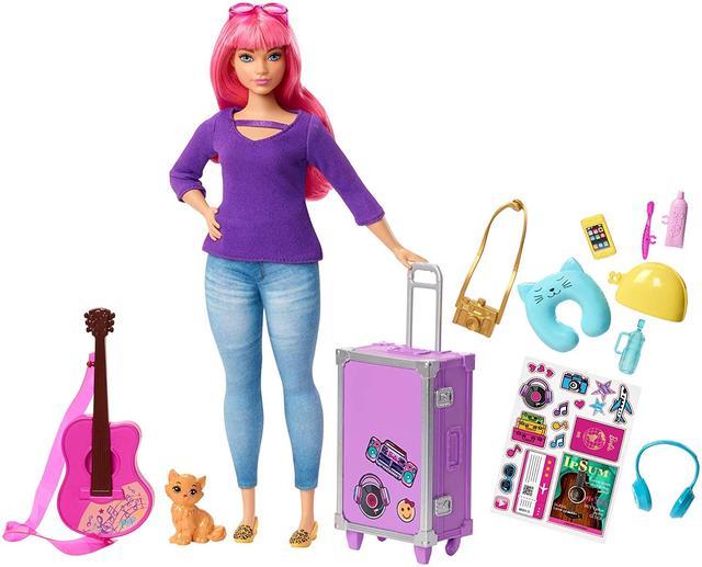 Barbie Лялька Дейзі  Travel Set  ( Кукла Барби Дейзи Путешественница Barbie Daisy Travel Doll FWV26)