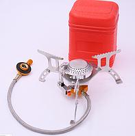 Туристическая газовая горелка с пьезорозжигом WALKING складная YZ-31