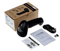 6 мес гарантия Беспроводной сканер ALANDA CT007x лазерный авто включение штрихкодов с памятью, фото 1