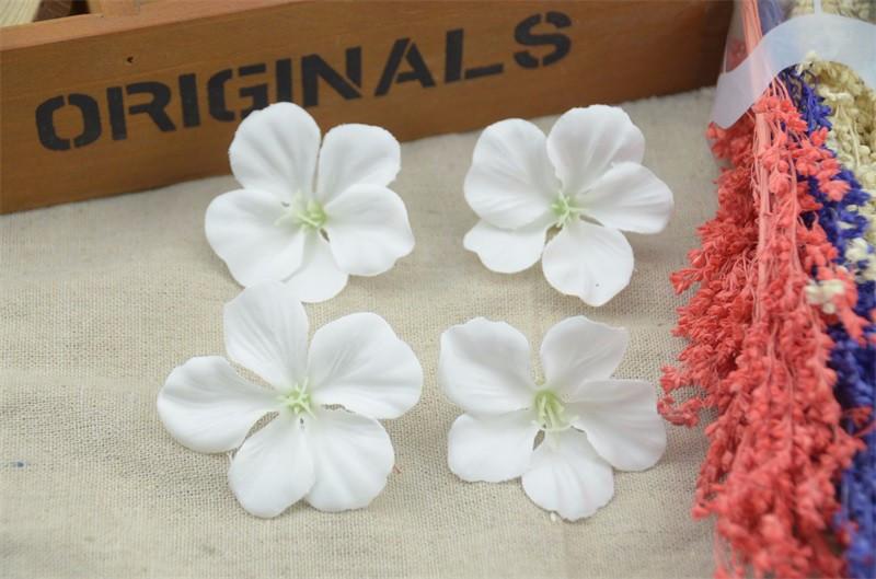 Цветок гортензии 5см, белый