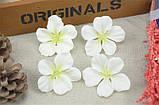 Цветок гортензии 5см, белый, фото 2