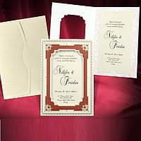 Пригласительные на свадьбу (арт. 2756)