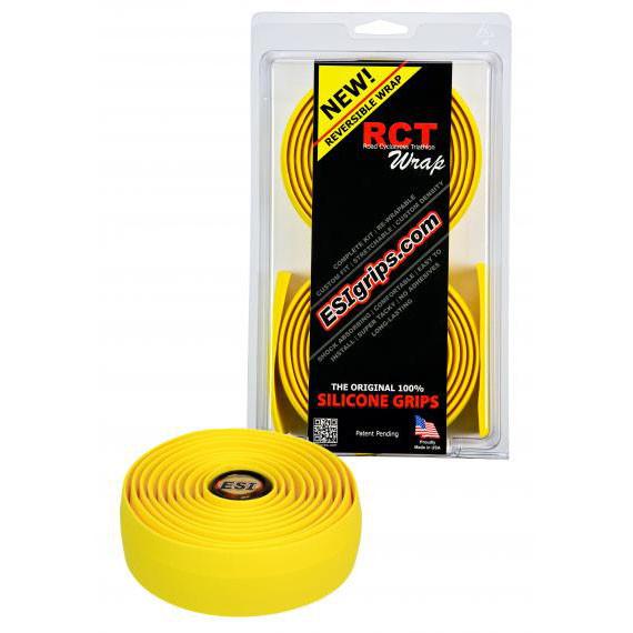 Обмотка руля силиконовая ESI RCT Wrap, желтая