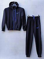 """Спортивный костюм подростковый """"Nike реплика"""". Возраст 12-16 лет (152-176 см). Темно-синий. Оптом"""