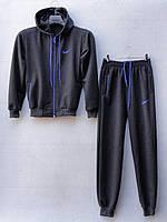 """Спортивный костюм подростковый """"Nike реплика"""". Возраст 12-16 лет (152-176 см). Темно-серый. Оптом"""