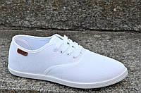 Кроссовки женские белые летние текстильные ( код 9903 )