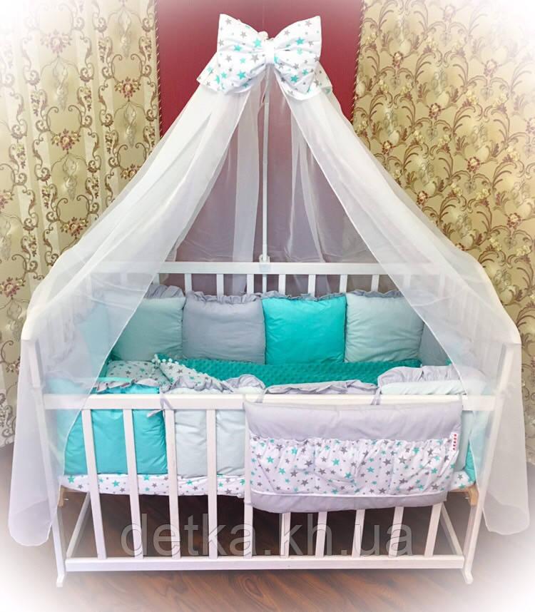 """Комплект """"MK"""" в детскую кроватку"""