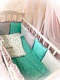 """Комплект """"MK"""" в детскую кроватку, фото 2"""
