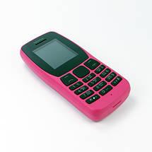 Мобильный телефон Nokia 110 Dual Sim 2019 Pink Розовый (TA-1192), фото 3