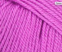 Пряжа розовая