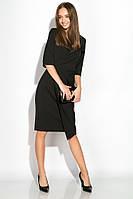 Платье (полубатал) 136P685 (Черный)