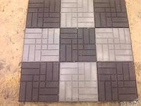 Тротуарная плитка полимерно-песчаная