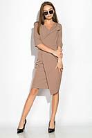 Платье (полубатал) 136P685 (Капучино)