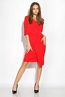 Платье (полубатал) 136P685 (Красный)