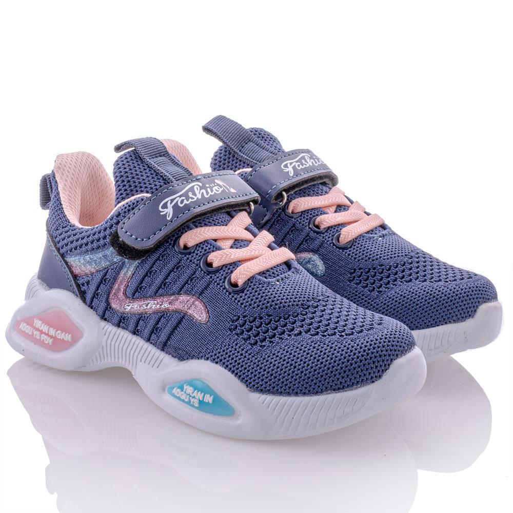 Кроссовки для девочек Yalike 28  синий 980924