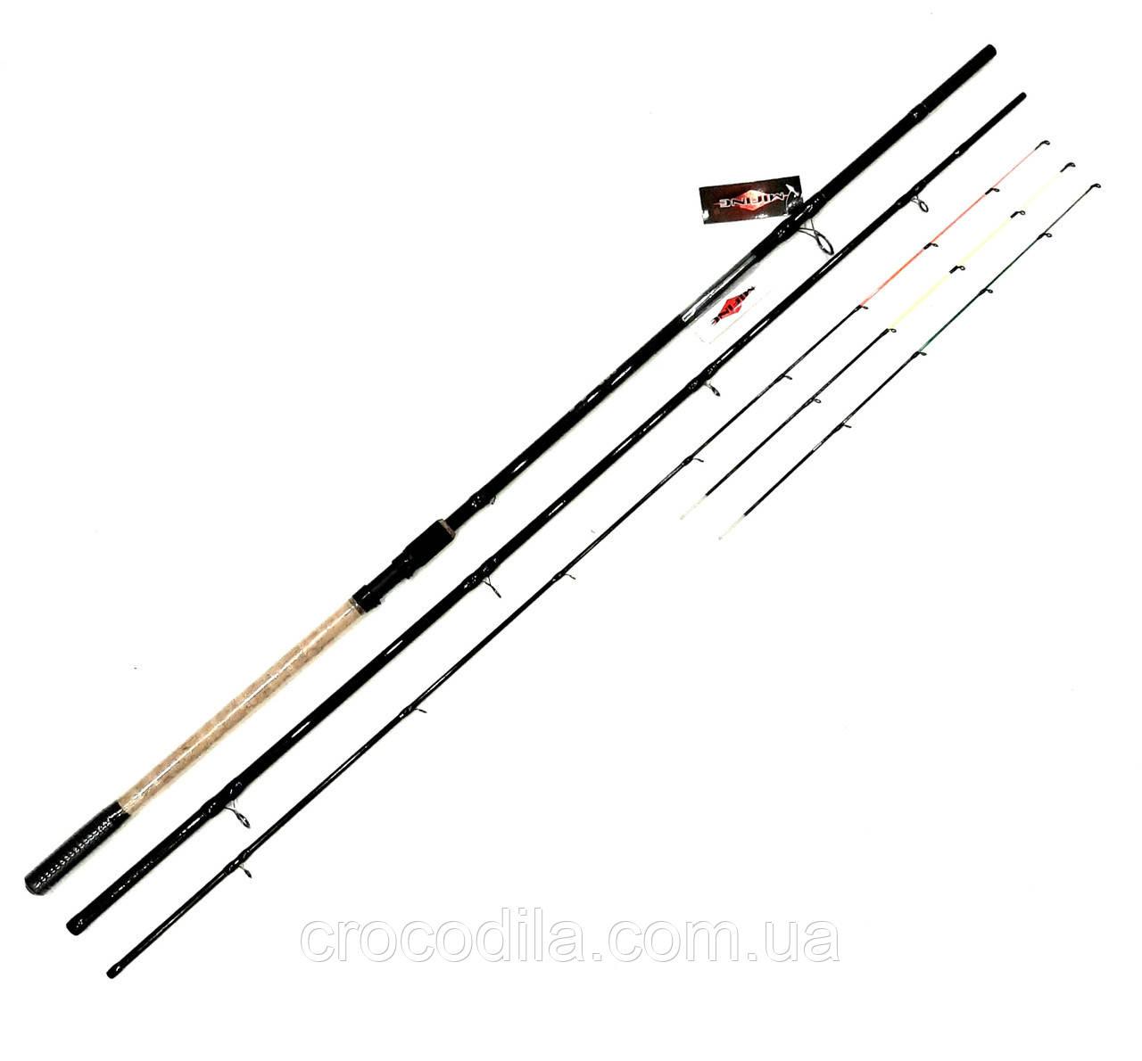 Фидерное удилище Mifine Strong Hammer 3.9 м 80/140/200 грамм