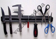 Магнитный держатель для ножей SUN NO-27 маленький  (33 см) подставка под ножи, фото 1